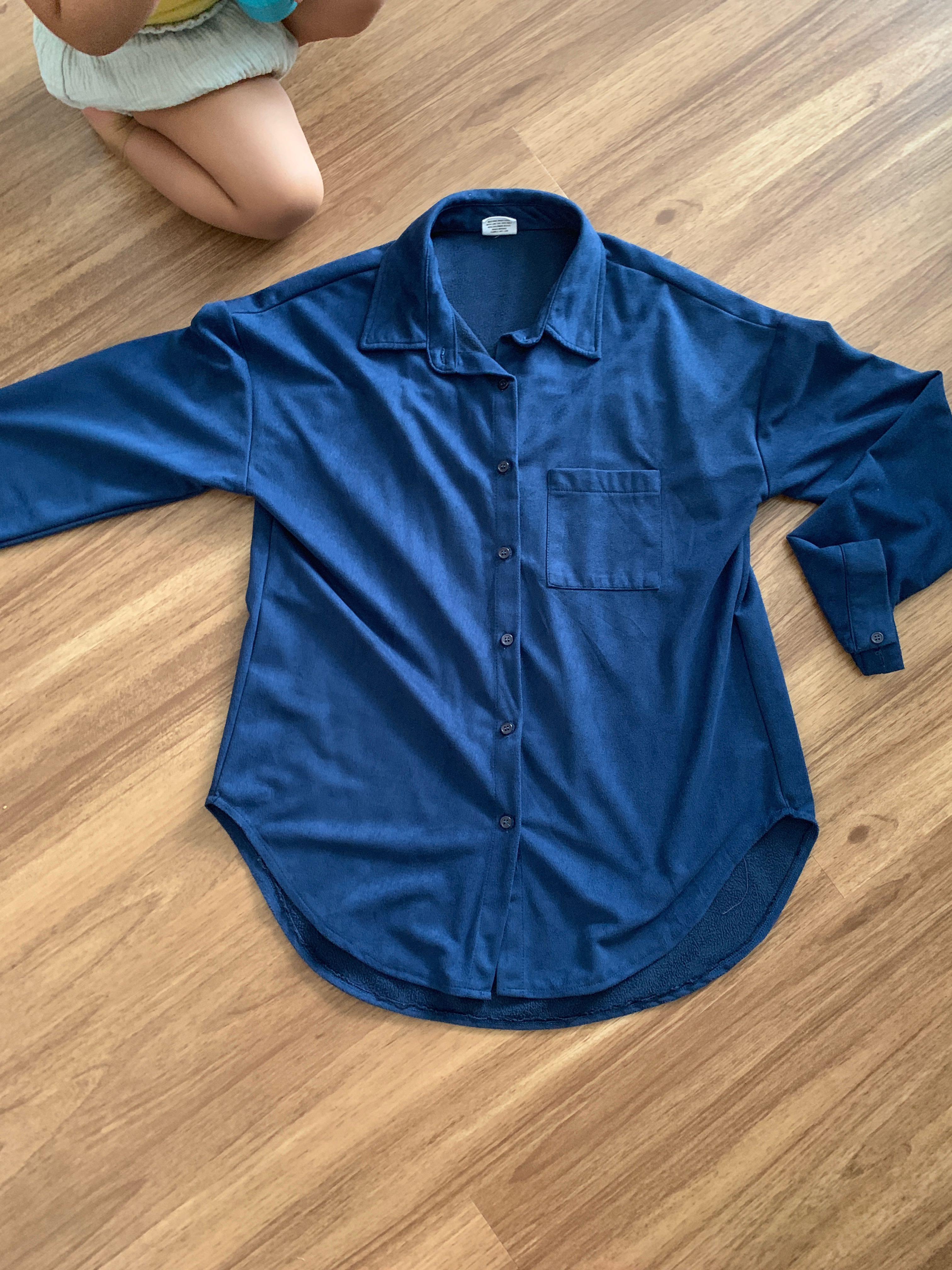 d7214947fa9 Velvet long sleeve shirt not uniqlo love Bonito collate