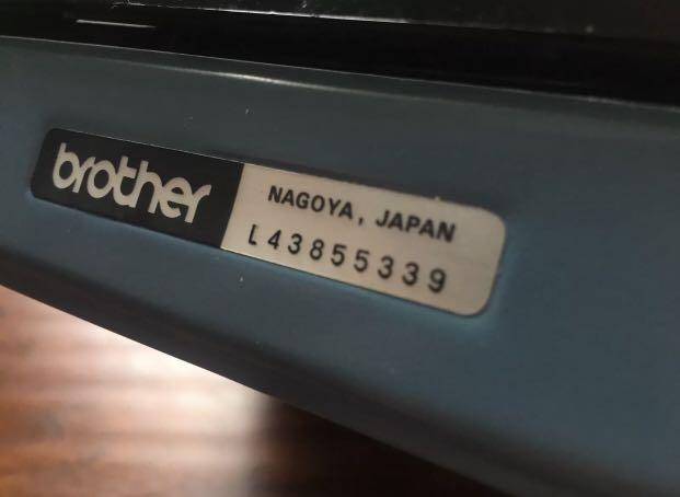 Vintage manual typewriter Brother Charger 11 Made in Japan Complete Serviced