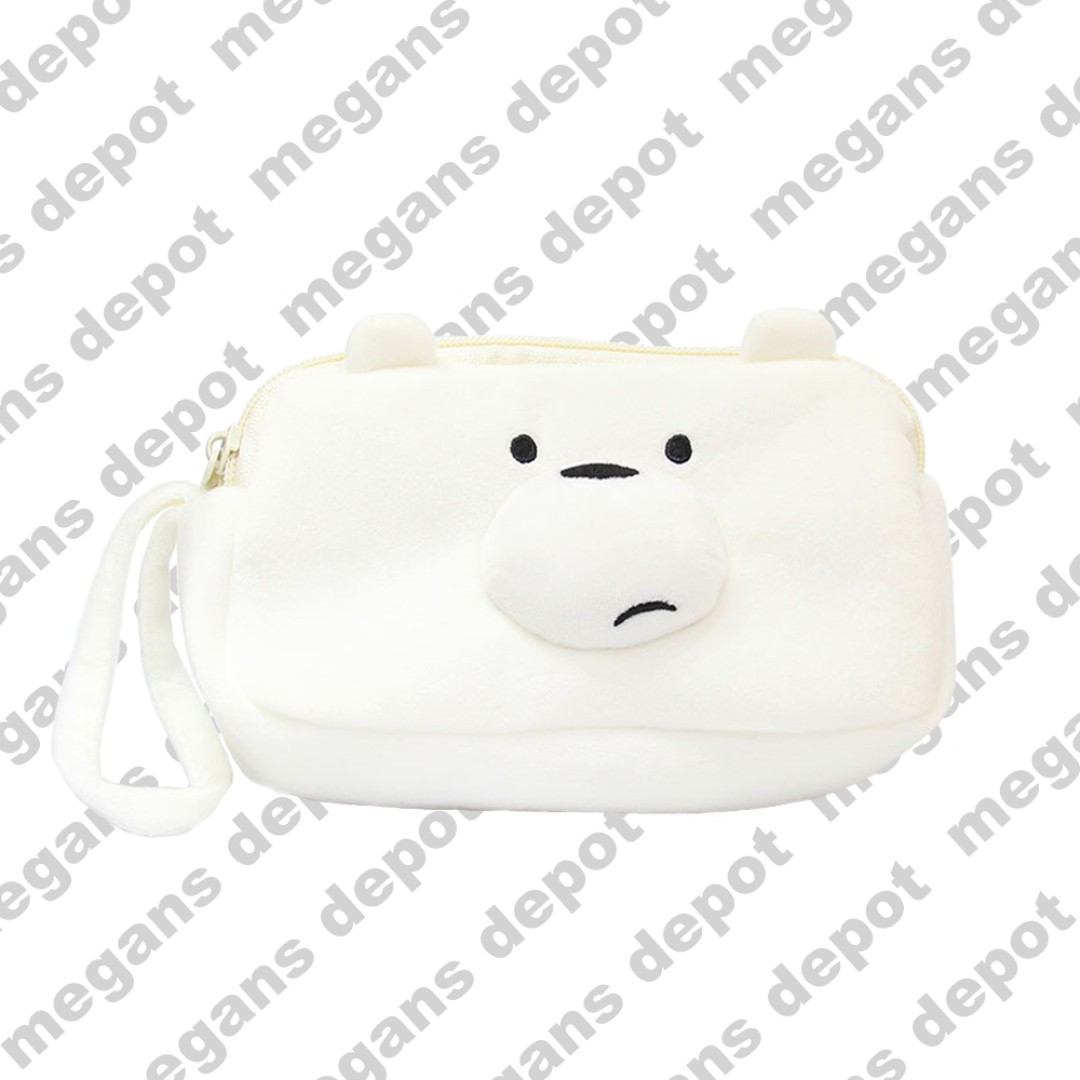 4512f7c1a979 We Bare Bears Ice Bear Pouch Purse Bag, Women's Fashion, Bags ...