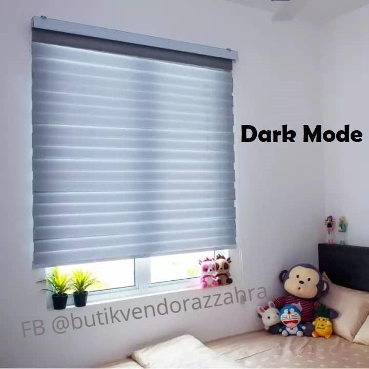 Window blinds Zebra-Bidai Tingkap zebra moden