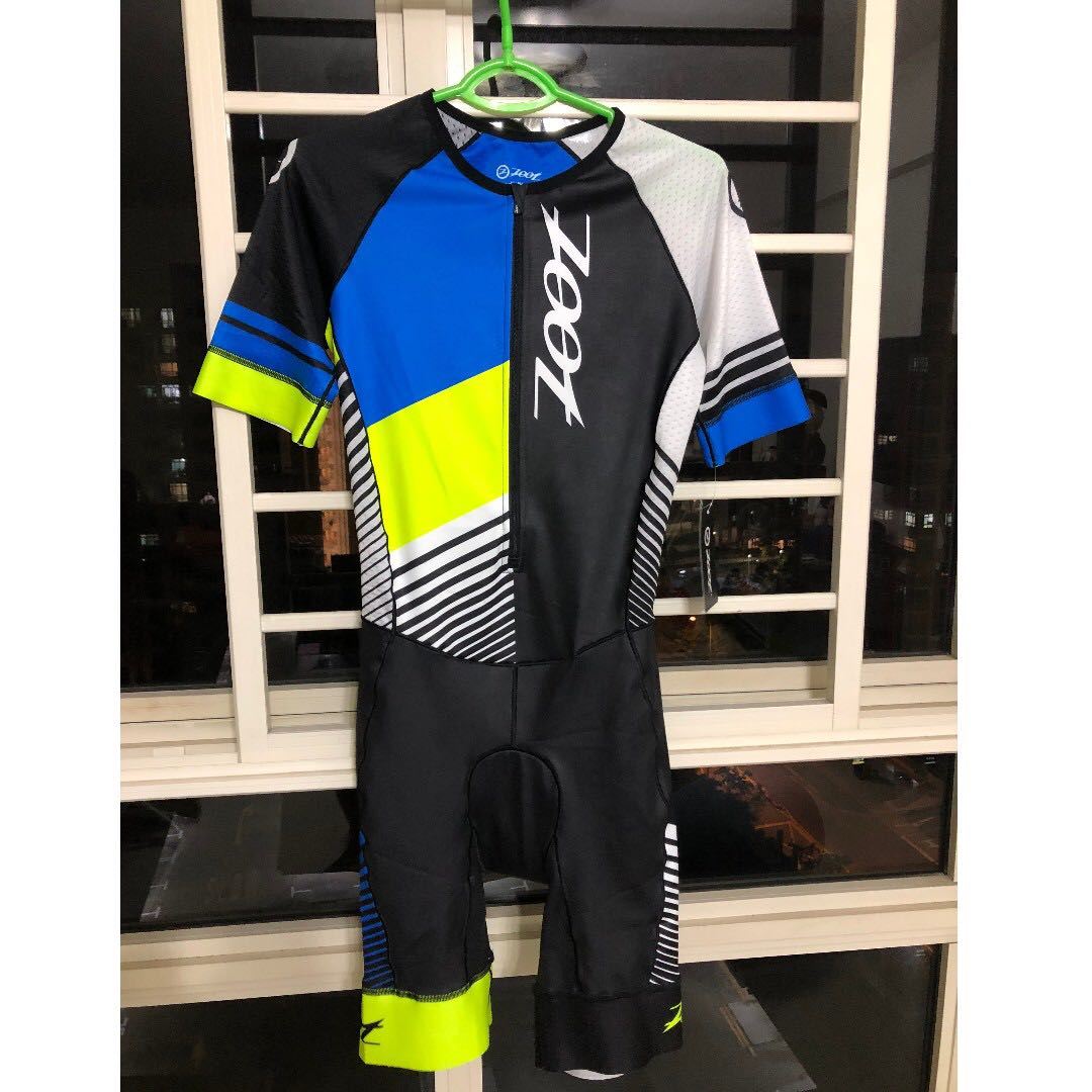 31dbe9f52af ZOOT LIMITED AERO SHORT SLEEVE TRI SUIT