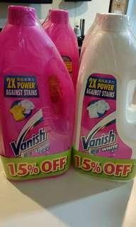 Vanish Liquid Fabric Stain Remover for Clothes (Works like dynamo)
