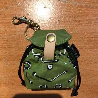 Satana零錢包(後背包造型),綠色,便宜賣500元