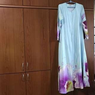 Minaz Dress in Light Blue