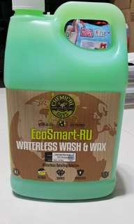 Chemical Guys EcoSmart Waterless Wash & Wax RU 1 Gal Big Bottle! Ready to Use.