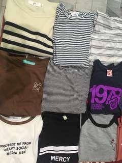 🚚 (任選3件350)條紋t恤 上衣