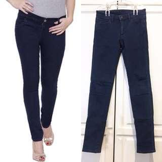UNIQLO Skinny Jeans in Navy Blue