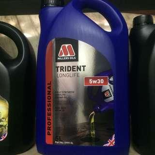 Millers Oil Trident Long Life Fully Synthetic 5W-30