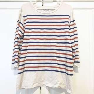 Zara Basic Stripe T-Shirt