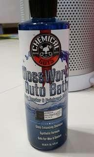 Chemical Guys Glossworkz Auto Bath Gloss booster and painteork cleaner shampoo