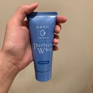 Perfect whip small face wash