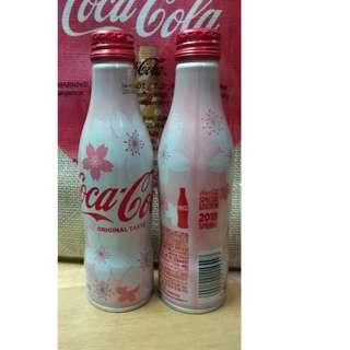 Coca-Cola ALUMINIUM BOTTLE Full Water 250ml Special Edition 2018 SPRING