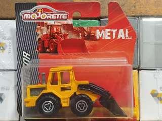 Majorette泰國製吸塑剷泥車