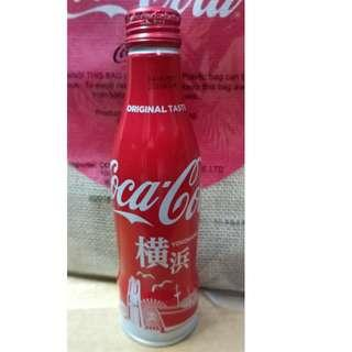 COCA COLA JAPAN Edition YOKOHAMA 250ML Full Water