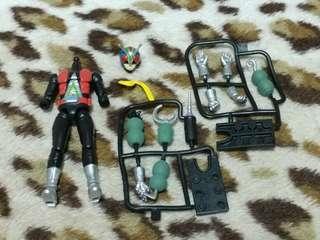 SHODO 掌動 幪面超人 Kamen rider 四號 怪金剛 連兩種武器