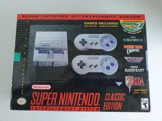 Nintendo snes classic limited edition