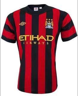 Manchester City Away Jersey (2011-2012)