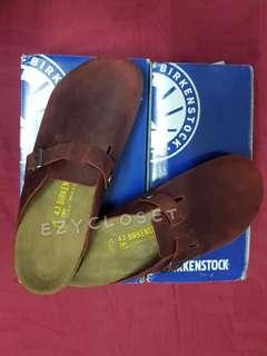VALENTINE'S SALES!!! 100% Authentic Birkenstock Boston Leather Clog (for Men and Women)