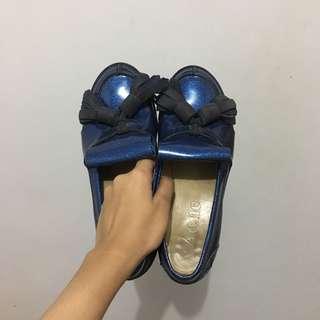 Acne Studios Azalea Glitter Leather Loafers