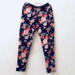 Floral Long Pants