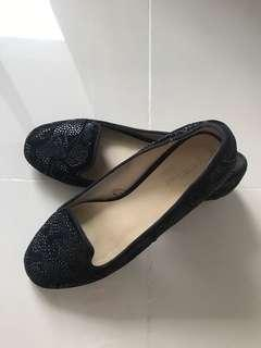 UK 3 ZARA BLACK Flats