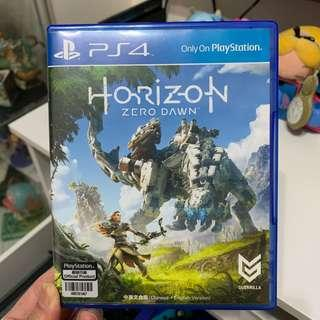 Ps4 horizon 地平線