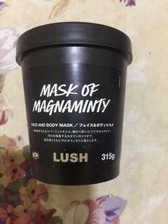 Masker mask of Magnaminty lush 315g ori