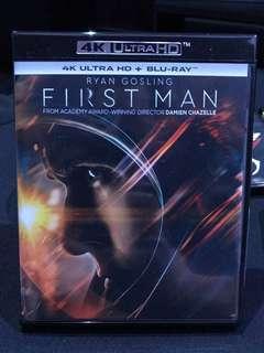 First Man 登月第一人4K Ultra HD Bluray 港版