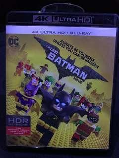 The LEGO Batman movie 4K Ultra HD Bluray 港版