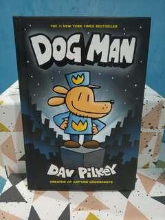 Buku berbahasa inggris: Dog Man, by Dav Pilkey