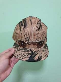 low priced 80172 f6d8a GOTG Groot Armor 9Fifty Adjustable Hat