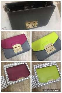 Furla My Play with 2 Flaps Metropolis 2 colours