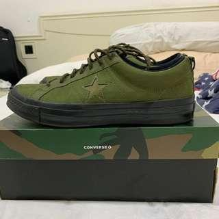 Converse x Carhartt Olive VNDS UK10/US11 EUR 45