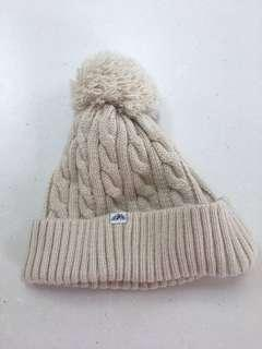 Nude coloured beanie