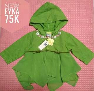 Jaket hoodie tinker bell brand Eyka New with tag