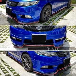 Samurai Lip (Bumper Lip)