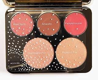 NEW LIGHTLY SWATCHED RRP$89 Bestselling Becca Cosmetics Jaclyn Hill Highlighter Palette - Limited Edition (includes Champagne Pop highlighter)