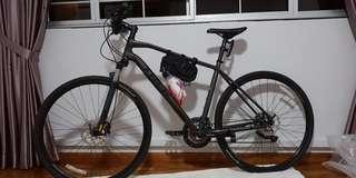 High end hybrid bike Trek DS8.6