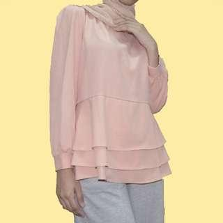 Baby Pink Cute Blouse #MFEB20