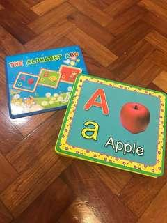 Big Alphabet Flash Cards Educational Learning Toy Material