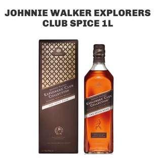Johnnie Walker Explorers Club Collection - The Spice Road (1 Liter)