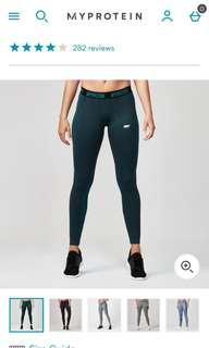 NWT My Protein Green Seamless Leggings