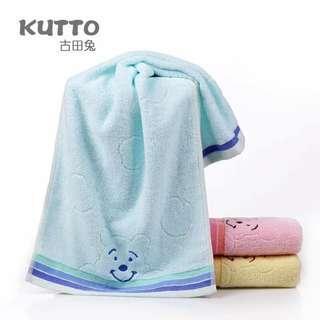 Smiley Bear Towel.