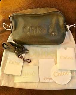 Chloe leather bag with strap size:20x12x5 cm