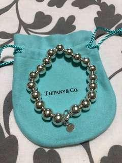 Authentic Tiffany bead bracelet