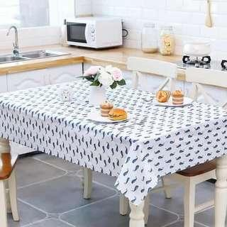 Printed Tablecloth.