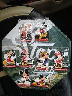 Disney Mickey 90 years Anniversary:Kit kat fridge magnet with metal plate(all 8 designs)