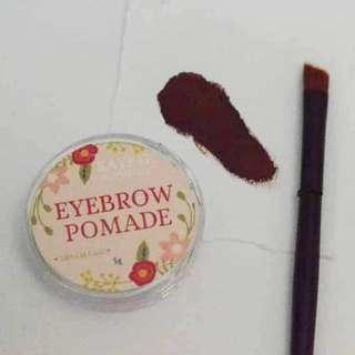 KG Naturelle Eyebrow Pomade Onhand with Brush