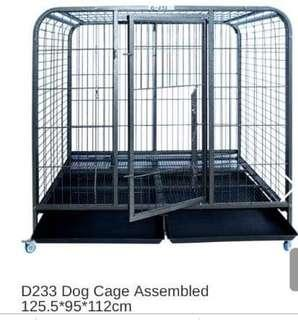 Dog Cage D-233 heavy duty for big dog ssize 3x4x4ft