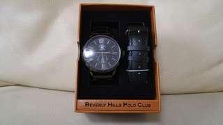 美國 Bevery Hills Polo Club 套裝 手錶